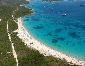 Playa de Liscia Ruja