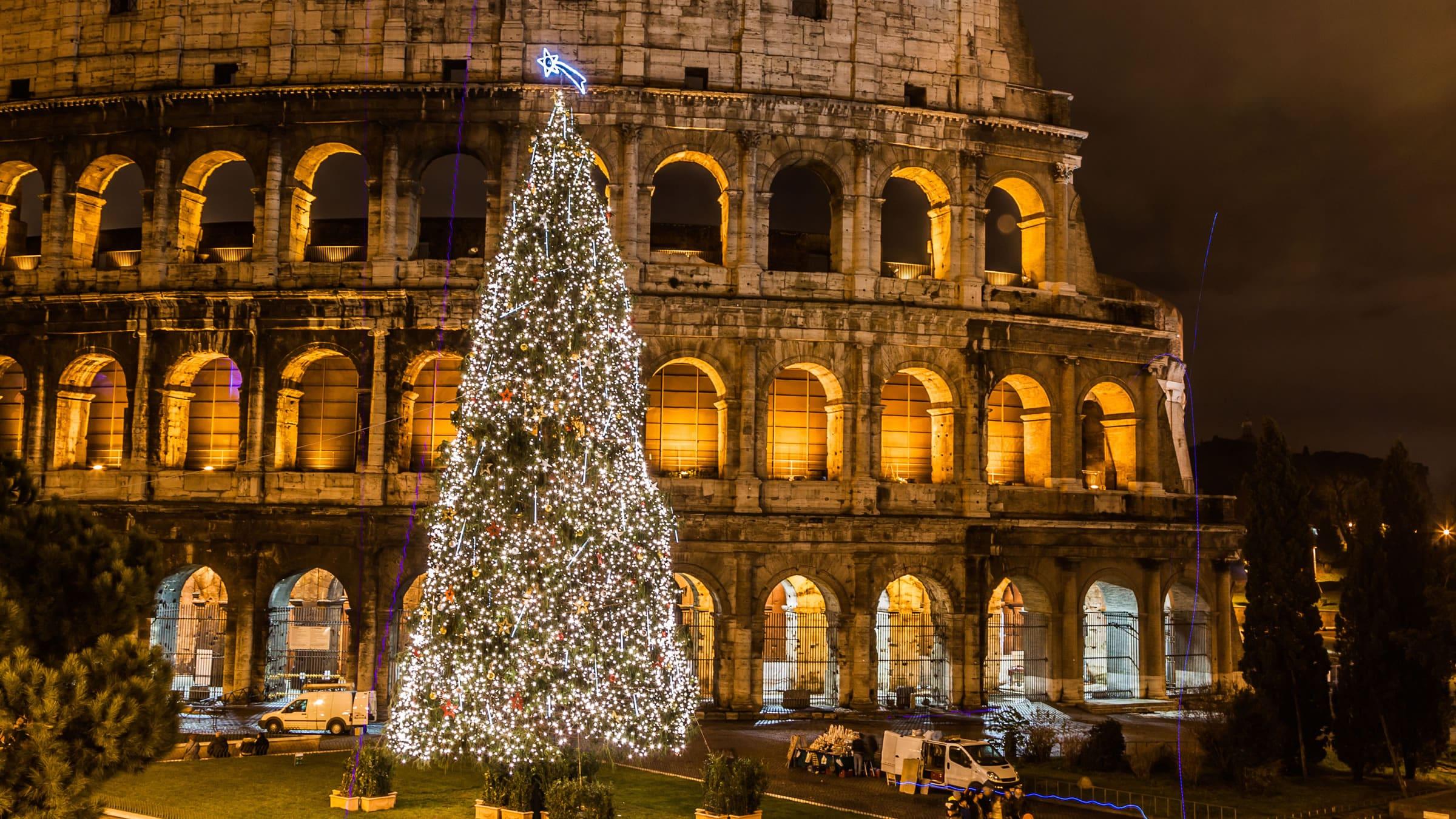 Roma en navidad y en fin de año