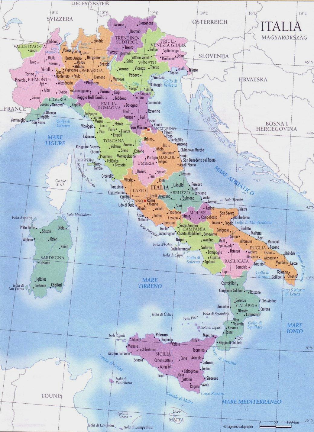 Provincias de Italia