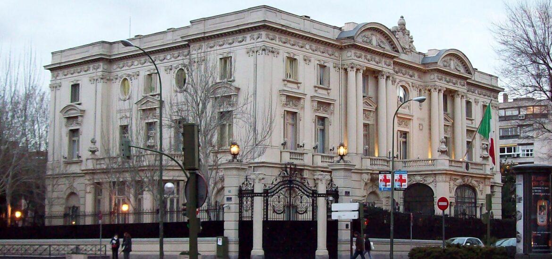 Embajadas en Italia