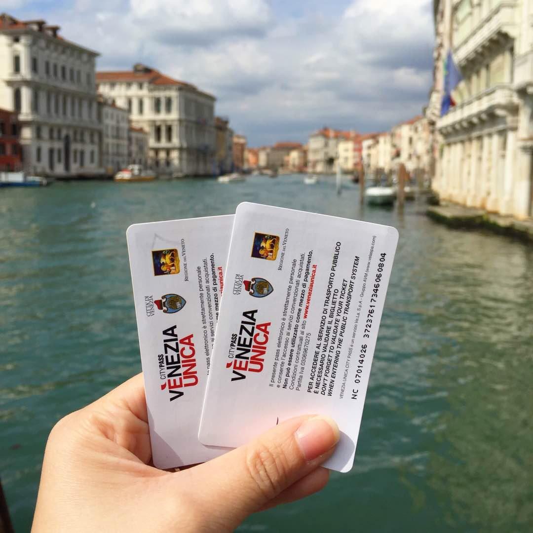 Venezia Unica City Pass, tarjeta turística de Venecia