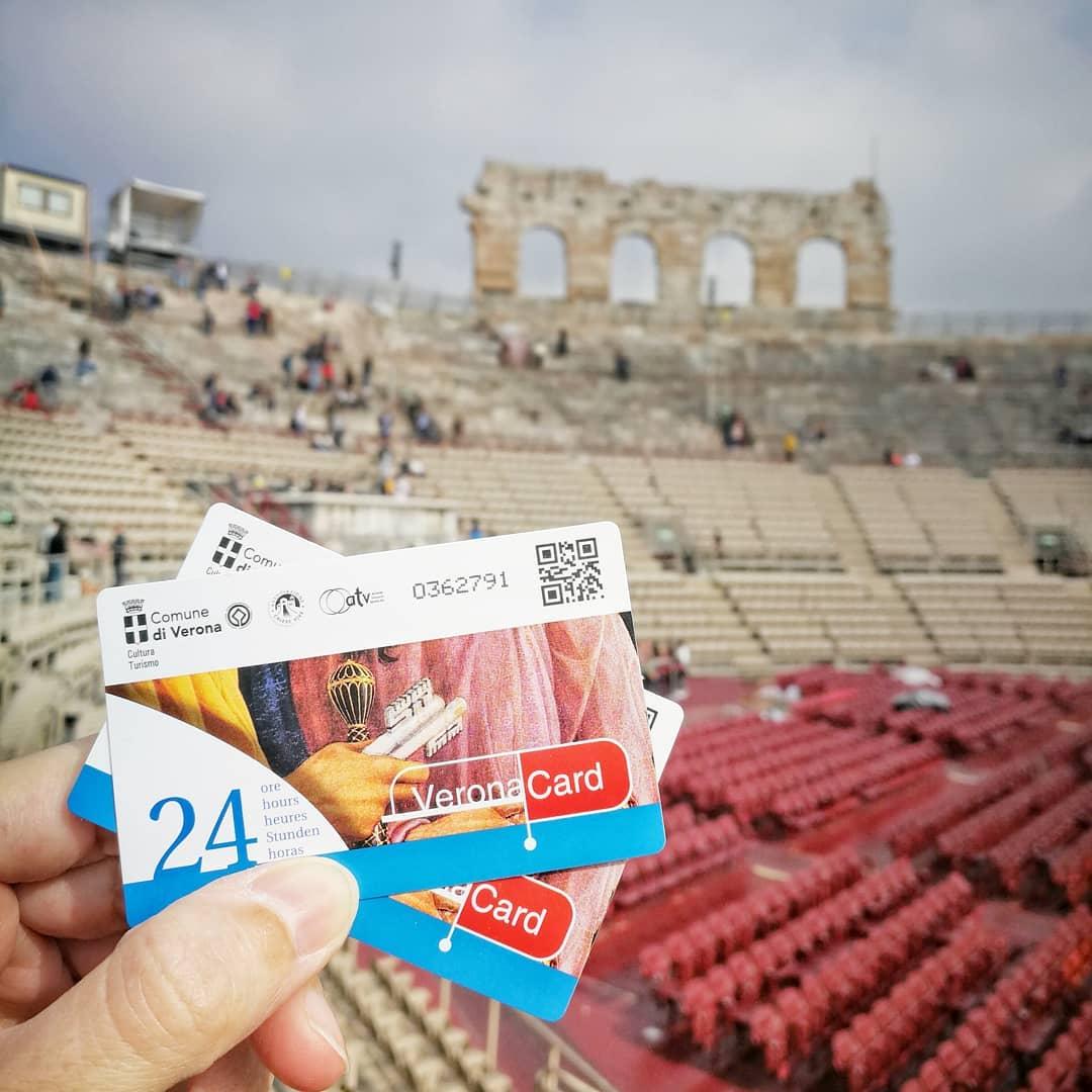 Verona Card, la tarjeta turística de Verona