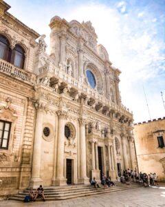 basilica de santa croce lecce