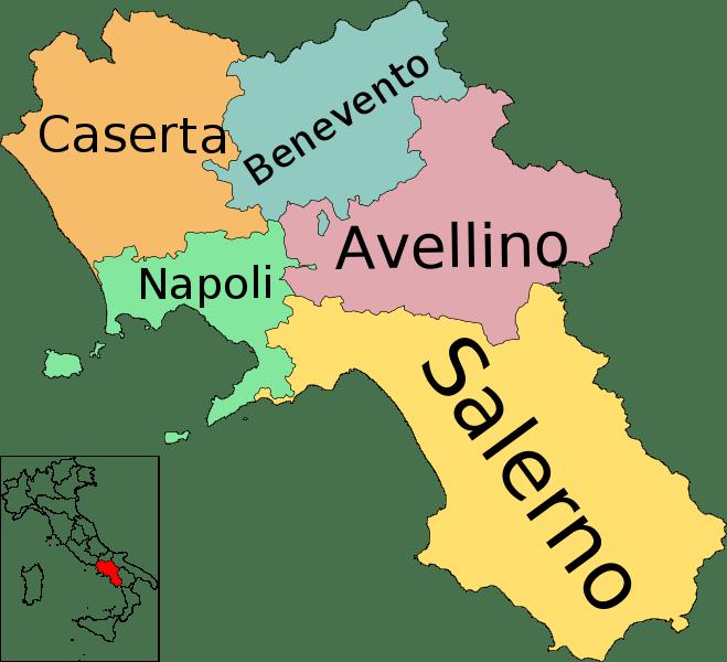 mapa de campania