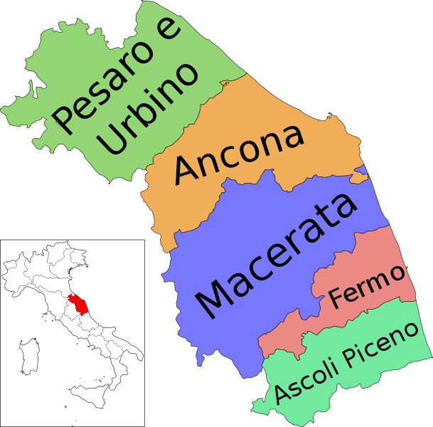 mapa de marcas