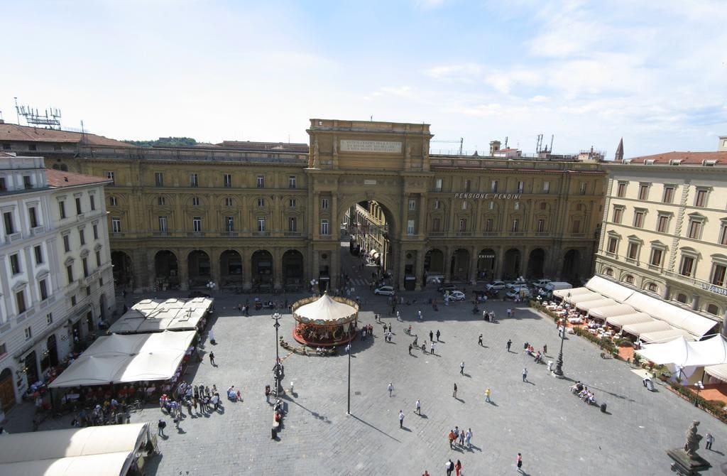 dormir en Florencia