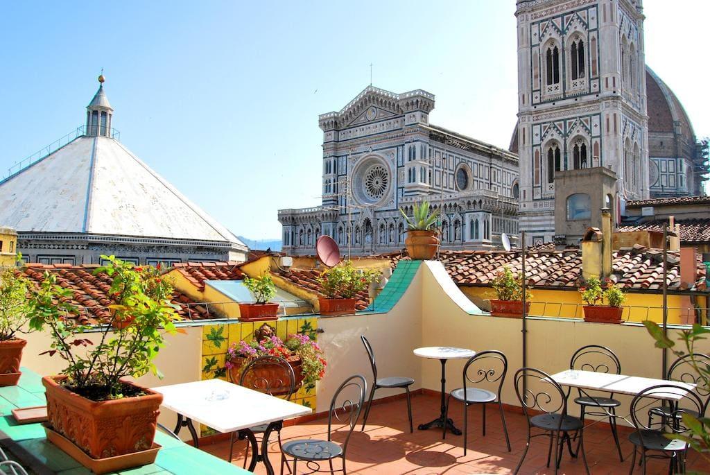 hotel centro histórico de Florencia